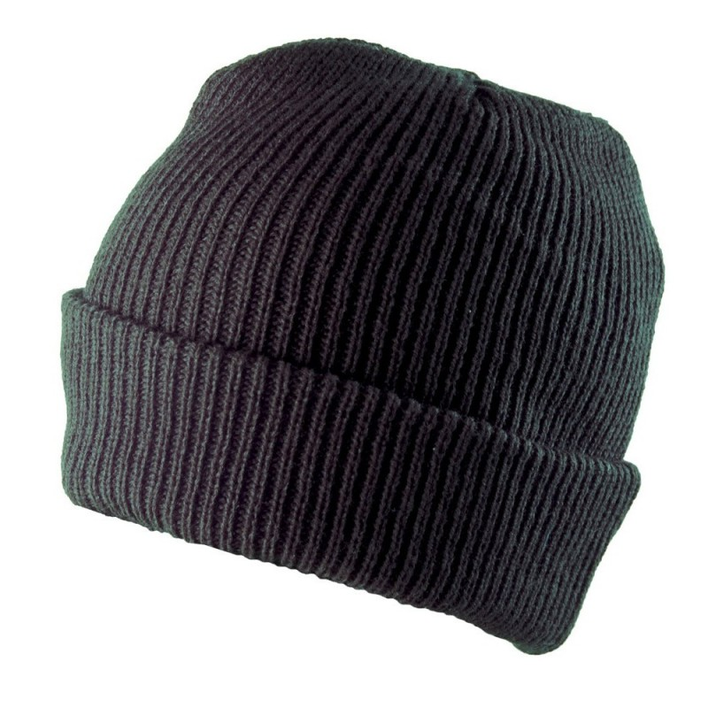 knit double hat CARL