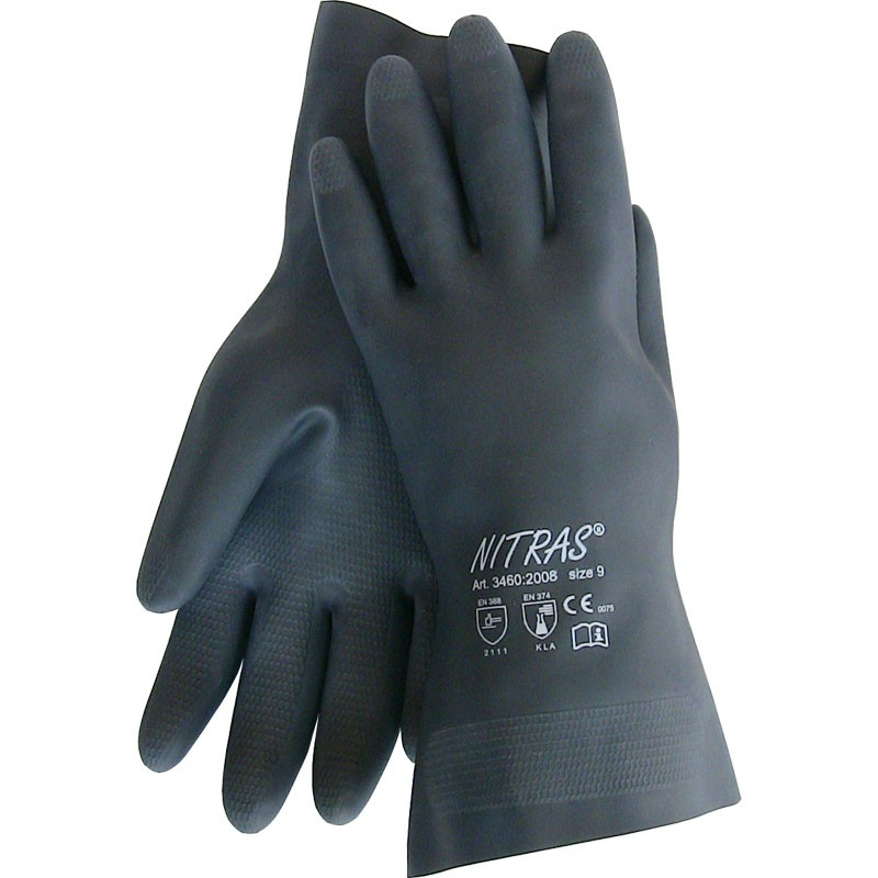 gloves BLACK BARRIER