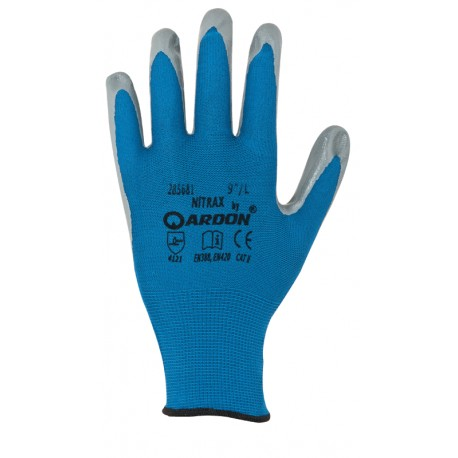 gloves nitrile NITRAX